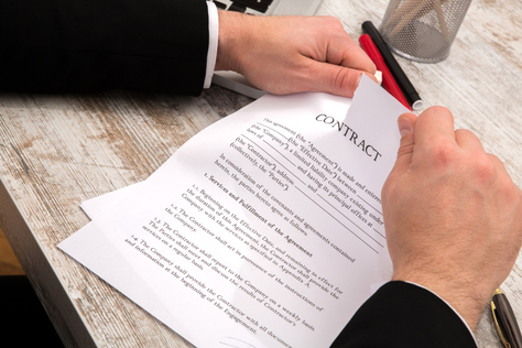 Awarding Contract Letter - Template Sample Form.