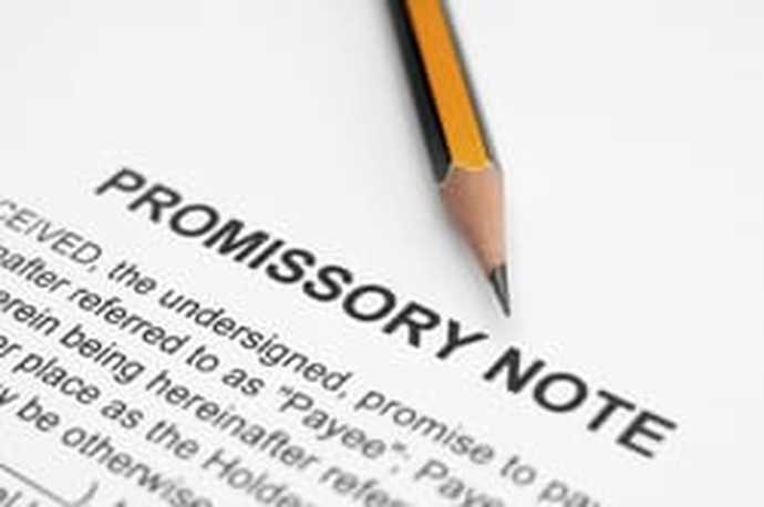 Promissory Note for Car Sample